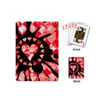 Love Heart Splatter Playing Cards Single Design (Mini)