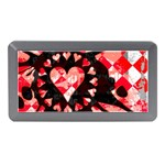 Love Heart Splatter Memory Card Reader (Mini)