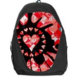 Love Heart Splatter Backpack Bag