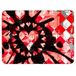 Love Heart Splatter Samsung Galaxy Tab 7  P1000 Flip Case