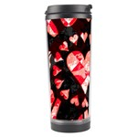 Love Heart Splatter Travel Tumbler