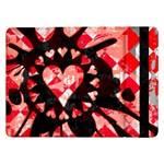 Love Heart Splatter Samsung Galaxy Tab Pro 12.2  Flip Case