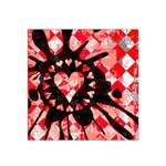 Love Heart Splatter Satin Bandana Scarf