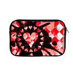 Love Heart Splatter Apple MacBook Pro 13  Zipper Case