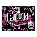 Punk Princess Double Sided Fleece Blanket (Small)