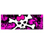 Punk Skull Princess Body Pillow Case Dakimakura (Two Sides) from ArtsNow.com Front