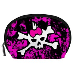 Punk Skull Princess Accessory Pouch (Large) from ArtsNow.com Front