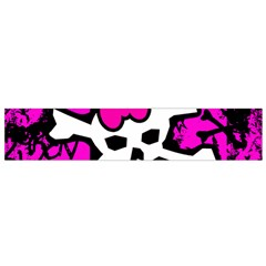 Punk Skull Princess Small Flano Scarf from ArtsNow.com Front