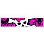 Punk Skull Princess Small Flano Scarf from ArtsNow.com Back