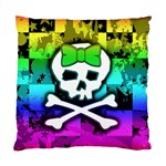 Rainbow Skull Standard Cushion Case (Two Sides)