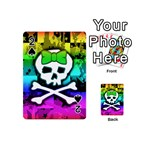 Rainbow Skull Playing Cards 54 Designs (Mini)