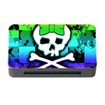 Rainbow Skull Memory Card Reader with CF