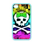 Rainbow Skull iPhone 4 Case (Color)