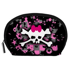 Scene Skull Splatter Accessory Pouch (Large) from ArtsNow.com Front