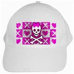 Skull Princess White Cap