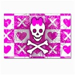 Skull Princess Postcards 5  x 7  (Pkg of 10)