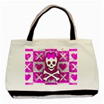 Skull Princess Basic Tote Bag