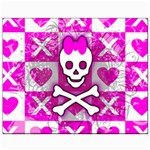 Skull Princess Canvas 8  x 10