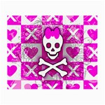 Skull Princess Small Glasses Cloth (2 Sides)