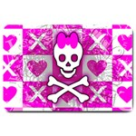 Skull Princess Large Doormat