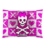 Skull Princess Pillow Case