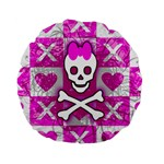 Skull Princess Standard 15  Premium Round Cushion