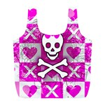 Skull Princess Full Print Recycle Bag (L)