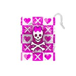 Skull Princess Drawstring Pouch (Small)