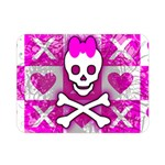 Skull Princess Double Sided Flano Blanket (Mini)