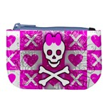 Skull Princess Large Coin Purse