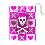Skull Princess Drawstring Pouch (XL)