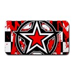 Star Checkerboard Splatter Medium Bar Mat
