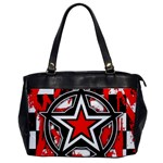 Star Checkerboard Splatter Oversize Office Handbag