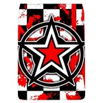 Star Checkerboard Splatter Removable Flap Cover (L)