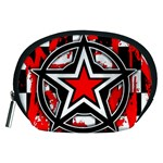 Star Checkerboard Splatter Accessory Pouch (Medium)
