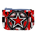 Star Checkerboard Splatter Large Coin Purse