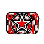 Star Checkerboard Splatter Apple MacBook Pro 15  Zipper Case