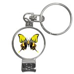 Butterfly M2 Nail Clippers Key Chain