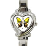 Butterfly M2 Heart Italian Charm Watch