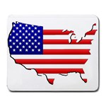 American Map Flag Large Mousepad