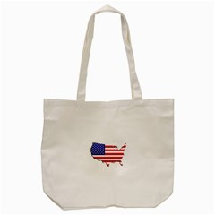 American Map Flag Tote Bag from ArtsNow.com Front