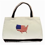 American Map Flag Classic Tote Bag (Two Sides)