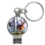 Deer Hunter Nail Clippers Key Chain