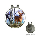 Deer Hunter Golf Ball Marker Hat Clip
