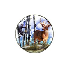 Deer Hunter Hat Clip Ball Marker (10 pack) from ArtsNow.com Front