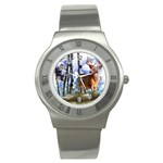 Deer Hunter Stainless Steel Watch