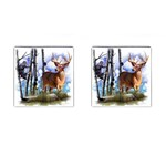 Deer Hunter Cufflinks (Square)