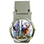 Deer Hunter Money Clip Watch