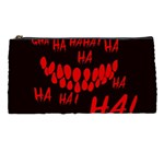 Demonic Laugh, Spooky red teeth monster in dark, Horror theme Pencil Case