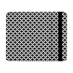 Black and white Triangles pattern, geometric Samsung Galaxy Tab Pro 8.4  Flip Case